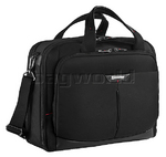 "Samsonite Pro Deluxe 3 16"" Laptop Briefcase Black 84110"