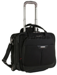 "Samsonite Pro Deluxe 3 16.4"" Laptop Wheel Bag Black 84016"