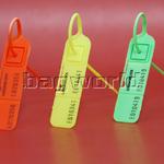LuggageLock Tamper Evident Security Seal 10 Pack Orange LLOCK - 2