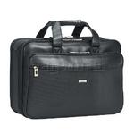 """Solo Classic Smart Strap 16"""" Laptop Briefcase Black GB300"""