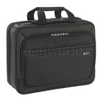 "Solo Sterling Smart Strap CheckFast 16"" Laptop Briefcase Black LA308"