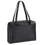 "Solo Sterling Ladies 16"" Laptop Tote Black LA801"