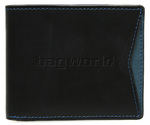 Cheddar Pocket Daryl Wallet Black P11