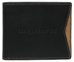 Cheddar Pocket Daryl Wallet Black P13