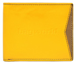 Cheddar Pocket Daryl Wallet Yellow P16