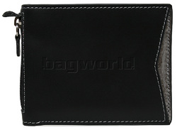 Cheddar Pocket Alan Wallet Black P21