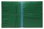 Cheddar Pocket Nigel Wallet Green P63B - 2