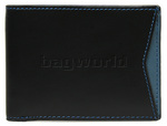 Cheddar Pocket Dennis Wallet Black P111