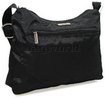 Travelon RFID Blocking Anti-Theft Hobo Shoulder Bag Black 42222