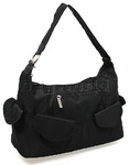 Travelon Classic Anti-Theft Pocket Hobo Bag Black 42347