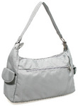 Travelon Classic Anti-Theft Pocket Hobo Bag Pewter 42347 - 1