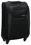 Qantas Durban Small/Cabin 56cm Softside Suitcase Black 70756