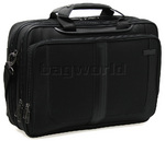 "Samsonite Quadrion Pro 15.4"" Laptop & iPad Medium Briefcase Black 32012"