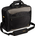 "Targus CityGear 16"" Laptop & iPad Briefcase Black T400"