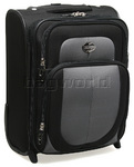 American Tourister Suave Small/Cabin 47cm Softside Suitcase Black 99001