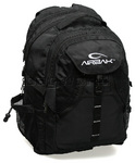 "AirBac Professional 15.4"" Laptop Backpack Black PR318"