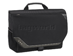 "Solo Vector 17.3"" Laptop Messenger Bag Black TR525"