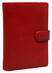 Cellini Ladies' Tuscany Large Book Leather Wallet Red TA074