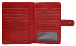 Cellini Ladies' Tuscany Large Book Leather Wallet Red TA074 - 2