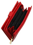 Cellini Ladies' Tuscany Large Book Leather Wallet Red TA074 - 3