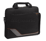 "Solo Vector 16"" Laptop Slim Briefcase Black TR116"