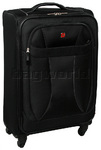 Wenger Neo Lite Medium 70cm Softside Suitcase Black 7208B