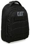 """CAT Millennial Derrick 15.4"""" Laptop Wheel Backpack Black 80018"""