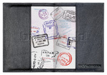 GO Travel RFID Leather Passport Cover Black GO672 - 1