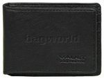 Vault Men's Fullgrain Cowhide RFID Blocking Slide In Leather Credit Card Holder Black M017