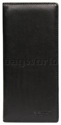 Vault Men's Fullgrain RFID Blocking Breast Leather Wallet Black M008