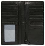 Vault Men's Fullgrain RFID Blocking Breast Leather Wallet Black M008 - 2