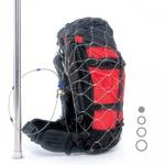 Pacsafe Exomesh 55L Backpack & Bag Protector Silver 10170