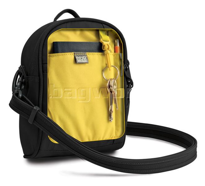 Pacsafe Luggage Metrosafe 100 Gii Hip And Shoulder Bag 85