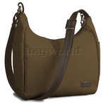 Pacsafe Citysafe 100 GII RFID Blocking Anti Theft Travel Handbag Walnut PB144