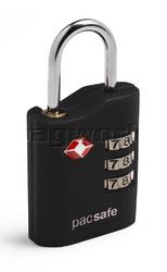 Pacsafe Prosafe 700 TSA Combination Padlock Black 10230