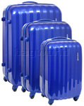 American Tourister Prismo Hardside Suitcase Set of 3 Royal Blue 41001, 41002, 41003 with FREE Samsonite Luggage Scale 34042