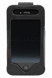 Vault Men's Fullgrain RFID Blocking iPhone 4 & 4s Leather iWallet Black M019