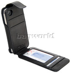 Vault Men's Fullgrain RFID Blocking iPhone 4 & 4s Leather iWallet Black M019 - 3