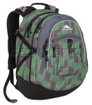 High Sierra Fat Boy Backpack Green 54200