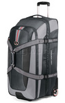 High Sierra AT6 81cm Expandable Wheeled Duffel with Backpack Straps Grey AT659