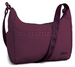 "Pacsafe Citysafe 200 GII RFID Blocking Anti Theft 13"" Laptop or iPad Handbag Plum PB145"