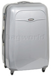 Qantas Dallas Large 81cm Hardside Suitcase Silver 15022