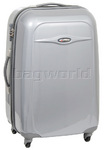 Qantas Dallas Medium 70cm Hardside Suitcase Silver 15023
