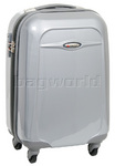 Qantas Dallas Small/Cabin 56cm Hardside Suitcase Silver 15026