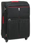 Qantas Narita Large 78cm Softside Suitcase Black 32015