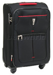 Qantas Narita Small/Cabin 56cm Softside Suitcase Black 32019
