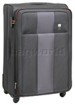 Qantas Dubai Large 78cm Softside Suitcase Charcoal 23015