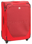 Qantas Shanghai Large 77cm Softside Suitcase Red 07015