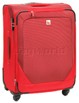 Qantas Shanghai Medium 66cm Softside Suitcase Red 07016