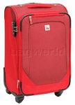 Qantas Shanghai Small/Cabin 56cm Softside Suitcase Red 07019